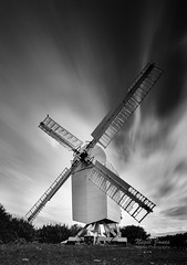 Chillenden Windmill (Nigel Jones QGPP) Tags: chillenden windmill kent mono longexposure