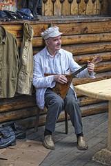 The man with the balalaika (Vasiliy Marinka) Tags: man balalaika