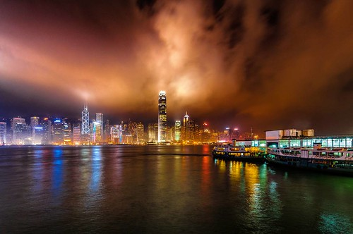 Central (also Central District; Chinese: 中環) is the central business district of  Hong Kong. It is located in Central and Western District, on the north shore of Hong Kong Island, across Victoria Harbour from Tsim Sha Tsui, the southernmost point of Kowlo
