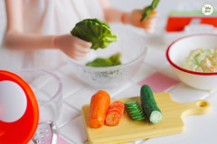 Potato Salad (Ylang Garden) Tags: rement miniature potato salad food vegetable