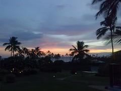 Hawaiian Sunset (artofjonacuna) Tags: kauai hawaii sunset weather clouds palm trees sky