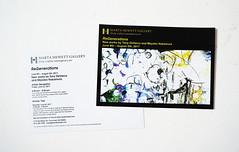 "Tony DeVarco & Mayako Nakamura ""ReGenerations"" at Marta Hewett Gallery (mayakonakamura) Tags: tonydevarco regenerations collaboration mayakonakamura tokyo sanfrancisco abstract painting photomontage acrylic paper twopersonshow exhibition martahewettgallery cincinnati ohio usa"