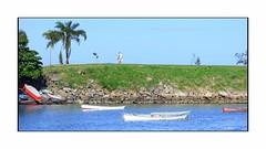 Barcos (o.dirce) Tags: barcos mar odirce vegetação