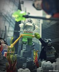 Doomsday (WattyBricks) Tags: lego dc comics superheroes justice league batman superman wonder woman bruce wayne clark kent diana prince doomsday krypton dawn minifigures