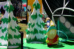 2016-Carman & his Alien Probe Outside SDCC-01 (David Cummings62) Tags: sandiego ca calif california comiccon con david dave cummings southpark animated series tvseries cartoonnetwork sets outside carman alienprobe