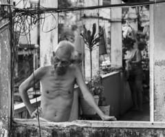 deep in thought (Greg Rohan) Tags: portrait blackwhite blackandwhite bw streetphotography hochiminhcity d7200 2017 people monochrome vietnam saigon asia local man