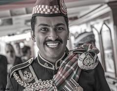Bagpiper from Oman (Ramireziblog) Tags: bagpiper bagpipe crew shabab oman ii uniform traditional denhelder sail 2017 canon 6d portrait portret