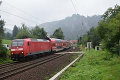 Br 146 016 mit S1 Bei Kurort Rathen (michaelketzenberg) Tags: züge train vlaky br146 s1 vvo rathen sachsischeschweiz českosaskéšvícarsko