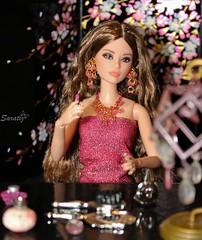 Glamorous pink (saratiz) Tags: pink glamour barbiethelook happyhipster lipstick flowers beauty fashiondolls