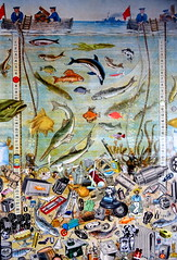 clean up the seas (Kollage Kid) Tags: collage sea fish cleanup ecology