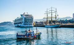 barcos (casalderreyj) Tags: crucero vigo puerto buqueescuela