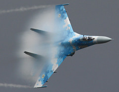 Su27 flanker (stevensloane) Tags: su27 riat airshow jet avation flanker su27flanker ukairshow vapour sukio airshows flying