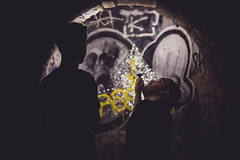 La Petite Ceinture de Paris (Hugo StickIT Bryan) Tags: pc paris petite ceinture train wild green industry friends discover dark light fade old tag graffiti plants railway street