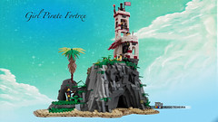 Girl Pirate Fortrex (hrtx) Tags: lego pirates afol moc comunidade0937
