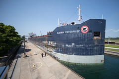 Algoma Enterprise Through The Locks (Rudy Malmquist) Tags: algoma enterprise canadian freighter soolocks saultstemarie up upperpeninsula locks