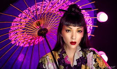 Japanese Blossom (Silverfish Photography ∴) Tags: girl beauty beautiful japan japanese eyes sweet sweetheart girls women glamour glamorous fantasies fantasy female