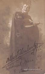 HUBERTY, Albert, Méphistophélès, Montreal Opera House, 1912 (Operabilia) Tags: opera operabilia goldenage autograph autographe claudepascalperna bass montrealopera canada méphistophélès faust gounod teacher