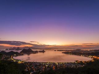 O Pôr-do-sol...