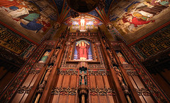 The Reredos of the Madeleine Cathedral (Lawrence OP) Tags: marymagdalene saltlakecity utah catholic cathedral reredos themadeleine