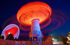 Fairground Spinner (mattrkeyworth) Tags: kiliani lightstream würzburg riesenrad bigwheel fair volksfest ilce7r2 sonya7rii batis25 heart herz