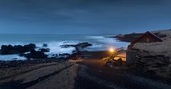 The old quay, Hellnar - Iceland (Kadu Flyer) Tags: hellnar snæfellsnes snaefellsnes iceland sea quay longexposure
