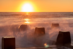 Today's sunrise at Coogee (mohossainphotography@gmail.com) Tags: beach coogee rockpool sunrise