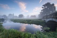 Charlecote House (Stu Meech) Tags: charlecote park sunrise mist national trust reflection warwickshire nikon d750 1635 stu meech leefilters