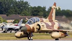 Dassault Mirage 2000D. 3-XN 652. (Nigel Paine) Tags: dassaultmirage2000d 652 3xn mirage riat2017 jet heathaze canon7dmkii ef300f28l