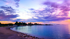 Summer sunset (Beatriz Abelenda) Tags: helsinki suomi beach finland water sunset summer atardecer verano playa coast landscape views