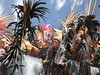 Aztec Ceremony (Give-on) Tags: mexico guerrero aztec azteca danzaazteca ceremony tribe tribal feathers tradition