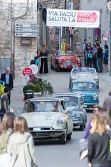 Mille Miglia, Gubbio 2017 (MikePScott) Tags: 1006 4cv 600 ac ace austinhealey camera car citroen ds19 events fiat gubbio italia italy millemiglia nikon28300mmf3556 nikond600 renault transport umbria