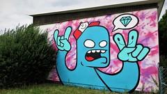 2Dirty / Lübeckstraat - 23 jul 2017 (Ferdinand 'Ferre' Feys) Tags: gent ghent gand belgium belgique belgië streetart artdelarue graffitiart graffiti graff urbanart urbanarte arteurbano 2dirty ferdinandfeys bestof2017be