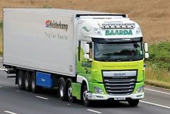 David Baarda FN17 KJU 25th July 2017 (asdofdsa) Tags: hgv haulage transport trucks travel motorway m62 goole langhamjunction rawcliffebridge 17plate