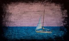 Summer Dream (imageClear) Tags: summerdream dreamy artistic beauty sail boat sailboat framed color sea lake water sky aperture nikon d500 tamron 150600mm tamron150600mmg2 g2 zoom imageclear flickr photostream