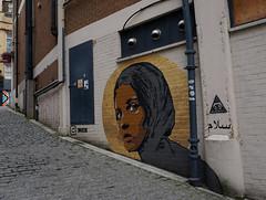 DSC05691230717 (surreyblonde) Tags: streetart grasffiti cans spray walls croydon uk artsquarter croydonstreetart rise sony a6000 cr0 urban portrait