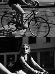 nel[La Mia Città][Pedala] la Nodi (Urca) Tags: milano italia 2017 bicicletta pedalare ciclista ritrattostradale portrait dittico bike bicycle nikondigitale scéta biancoenero blackandwhite bn bw 10292