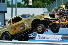 Meltdown Drags (chumlee10) Tags: drag race illinois il drags wheel stand