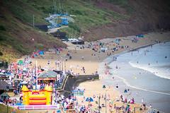 a climb (pamelaadam) Tags: thebiggestgroup fotolog digital summer august 2016 holiday2016 people lurkation sea filey engerlandshire