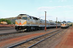 Post-Retirement (BravoDelta1999) Tags: grandcanyon railway gcry railroad williams arizona emd f40fh f40ph 239 alco fpa4 mlw 6793