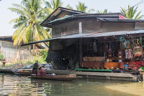 marche fottant damnoen saduak - thailande 29