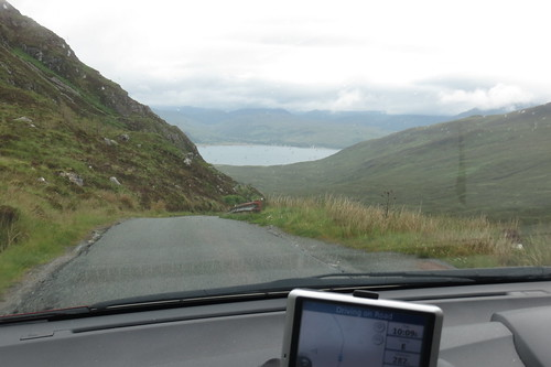 Unclassified road to the Kylerhea Ferry
