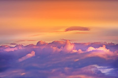 When the sun wakes up behind the horizon (Eggii) Tags: sky clouds early morning pink heaven colours formation warm