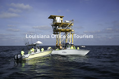 CocodrieCharterFishing (8) WM (Louisiana Tourism Photo Database) Tags: fishing gulf gulfofmexico southernunitedstates angler anglers boating catchingfish charterboat offshore oiandgasrigs outdoorsports outdoors redsnapper southlouisiana water cocodrie louisiana usa