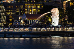 Merlion (AngstyRandi) Tags: fullertonbayhotel merlion merlionpark singapore