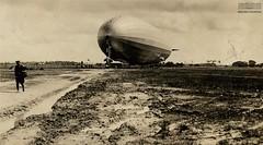 Graf Zeppelin (Arquivo Nacional do Brasil) Tags: grafzeppelin zeppelin dirigíveis an arquivonacional aviação campodejiquiá recife pernambuco