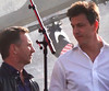 Red Bull F1 boss Christian Horner shares a cool look with Mercedes F1 head Toto Wolff at F1 Live in Trafalgar Square, London (Ben Sutherland) Tags: f1 formula1 formulaone f1inlondon f1londonlive london londonformulaone f1livelondon centrallondon trafalgarsquare f1live horner christianhorner redbull wolff totowolff mercedes redbullf1 mercedesf1
