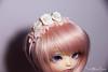 Rose headbands (AnnaZu) Tags: bjd balljointed rose headband polymer clay minifee doll littlefee msd yosd beads roses annazu annaku vesnushkahandmade abjd fairyland nanuri luna