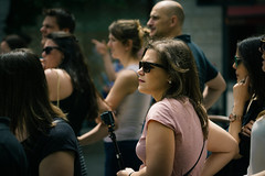 Paparazzi 2 (Мaistora) Tags: street city urban square candid portrait paparazzi movie movies cinecita filming shooting location onlocation crowd fans onlookers tourists paparazzo cinematic focus defocus sharp unsharp blur dof depth bokeh girl woman lady female camera tripod stick selfiestick milano italy sony ilce alpha sel90m28g 90mm f28 lens lightroom color colour grading toning tonality palette