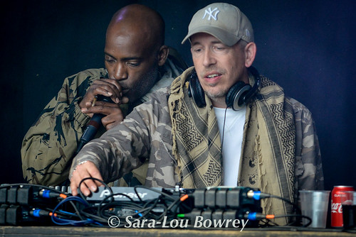 Rodney P and Skitz at Nozstock 2017