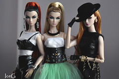 Twins Wild at heart and Trouble (Ice_G) Tags: lilith lillith wild heart eden trouble jason wu integrity toys